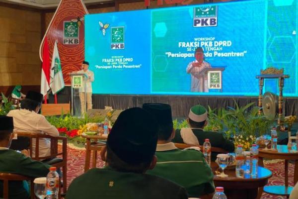 Fraksi PKB se Jateng Gelar Workshop Perda Pesantren, Begini Amanat Gus AMI