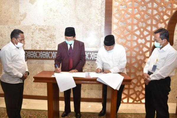 Kemenag Salurkan Bantuan Operasional Rp15 M ke Masjid Istiqlal