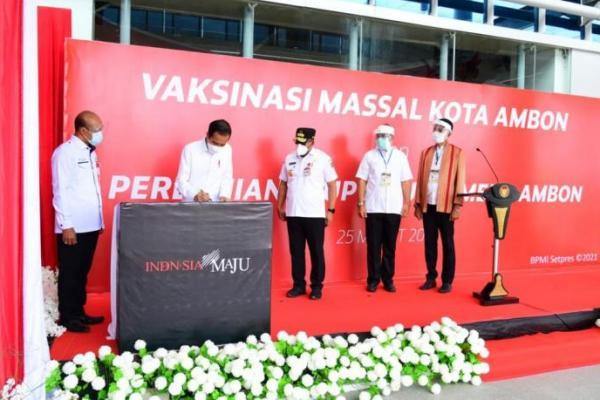 Resmikan RSUP Kota Ambon, Jokowi: Berikan Layanan Terbaik pada Masyarakat