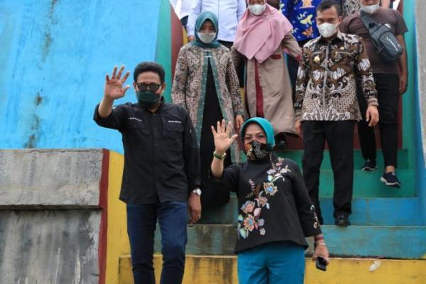 Ke Bengkulu, Gus Menteri Sambangi BUMDes Tunas Jaya