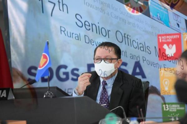 Di Forum SOMRDPE, Taufik Madjid Paparkan SDGs Desa