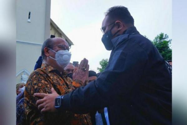 Di Hadapan Uskup Agung Makassar, Gus Yaqut: Umat Katholik Tak Sendiri