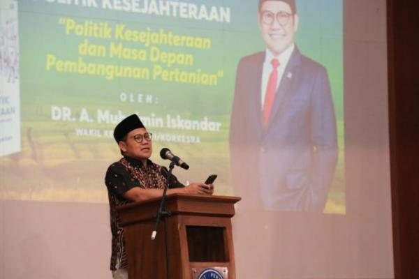 Road Show Politik Kesejahteraan, Gus AMI: Pertanian Kekuatan Kita