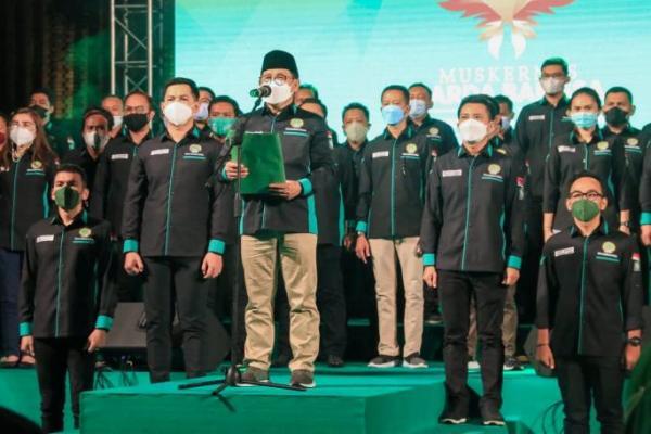 Kukuhkan DKN Garda Bangsa, Gus AMI: Kaum Muda Penentu Kemenangan