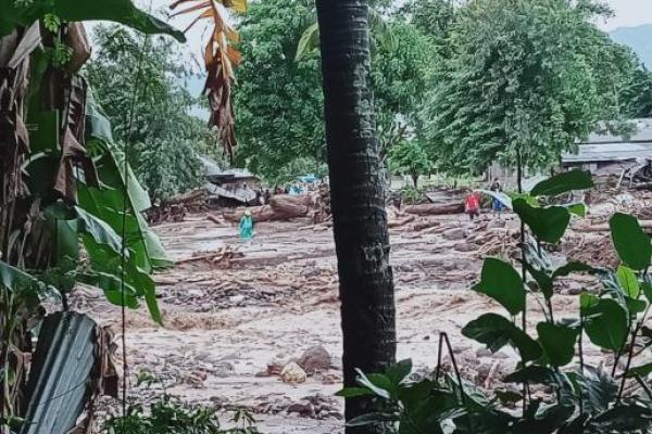Pasca Banjir Bandang Flores Timur, 23 Warga Ditemukan Meninggal Dunia