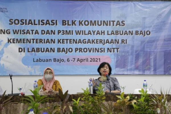 Dita Indah Sari: Kemnaker Dorong BLK Komunitas Cetak SDM Siap Kerja