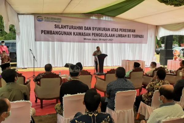 Peduli Lingkungan, Abdul Wahid Dukung Pembangunan Pabrik Limbah Terpadu di Riau