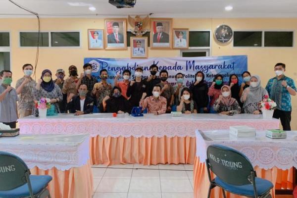 Prodi MSDM Polteknaker Ajak Pemuda Pesisir Untuk Lebih Aktif Kembangkan Potensi