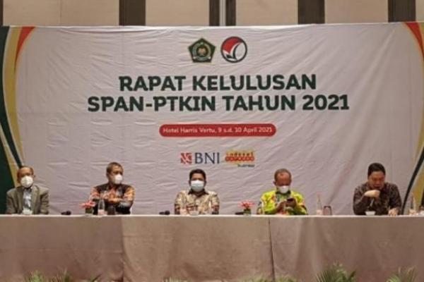 Kemenag Umumkan Hasil SPAN-PTKIN Diumumkan 12 April 2021