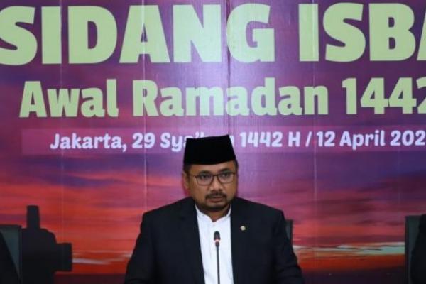 Pemerintah Tetapkan 1 Ramadan 1442 H Jatuh pada Selasa 13 April 2021