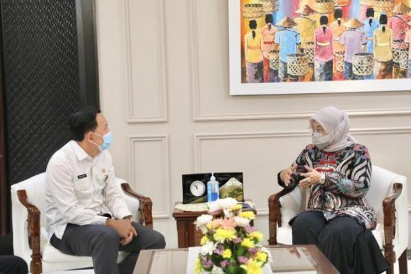 Menteri Ida Fauziyah: Kemnaker Bakal Dirikan BLK di Prabumulih Sumsel