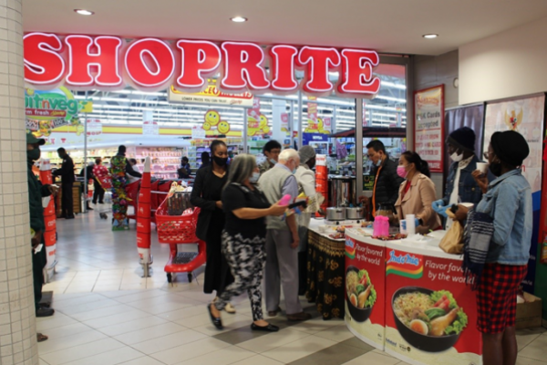 KBRI Windhoek Promosi Produk Indonesia di Pasar Swalayan Shoprite Namibia