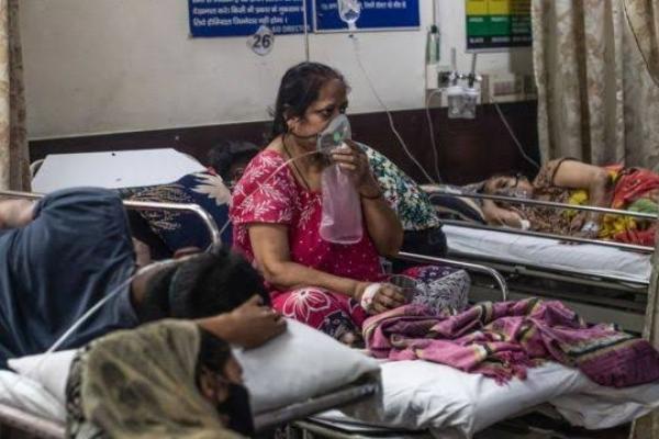 Lonjakan Covid di India, RI Bantu Kirim 3.500 Tabung Oksigen