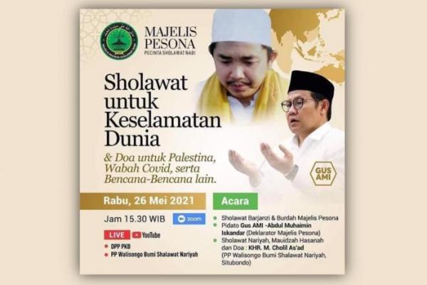 Sore Ini Majelis Pesona Ajak Indonesia Baca Doa dan Sholawat Nariyah untuk Palestina