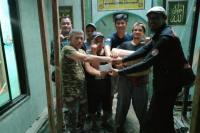 Komunitas RX King `Betawi Punye Raje` Donasi Renovasi Musala