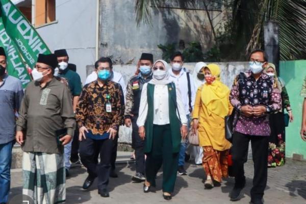 Nur Nadlifah Gelar Safari Vaksin Indonesia Bangkit di Brebes dan Tegal