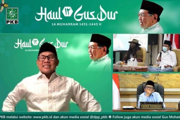 Peringatan Haul ke-12, Gus Muhaimin Ajak Teladani Spirit Perjuangan Gus Dur