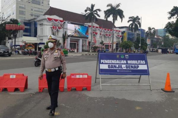 PPKM Level 3 Jakarta, Ganjil Genap Hanya Diberlakukan di Tiga Titik