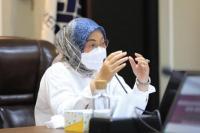 Menaker Ida Fauziyah Sosialisasikan Persiapan Upah Minimum 2022