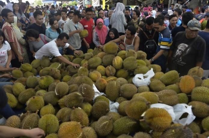 Durian Montong Menjadi Primadona di Festival Pesta Durian